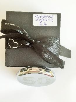 Boxed Compact Mirror for 50thBirthday